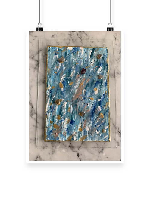 Ocean Speck Canvas Art