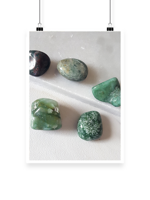 Bundle Malachite Healing Stone