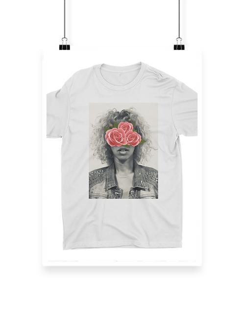 Abstract Rosa Tee