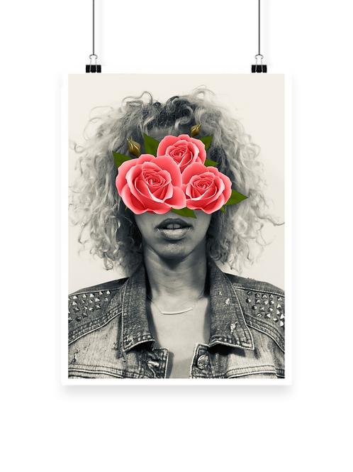 Abstract Rosa