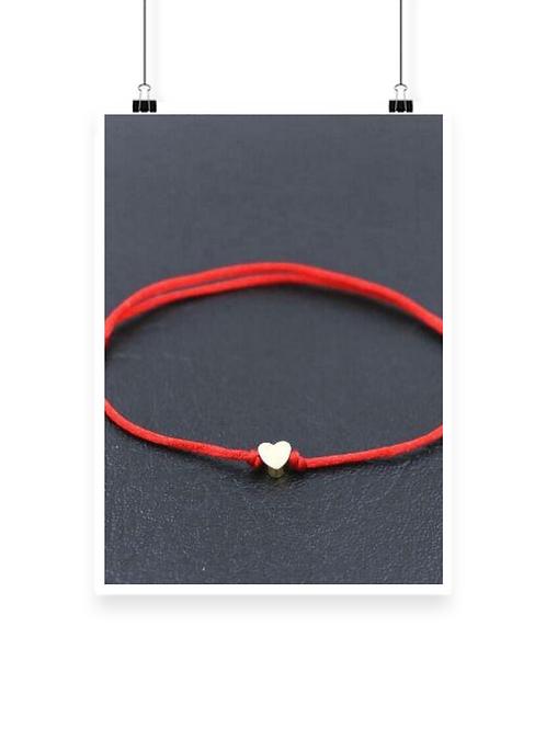 Golden Heart Chakra Bracelet