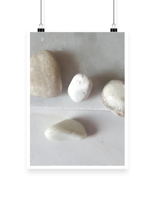 Bundled White Buffalo Healing Stone