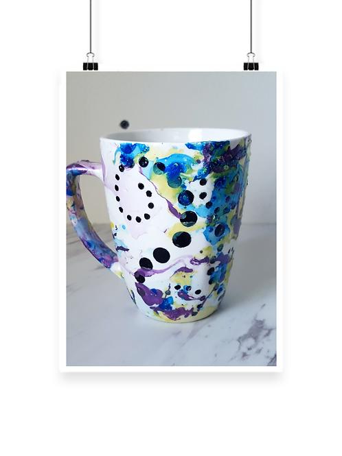 Galaxy Decor Water Desk Mug