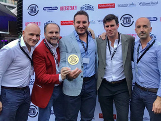 Ruby Rosedale wins gold at 2018 World Steak Challenge in London