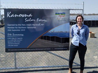 Kanowna Solar Farm – Open in Time for Summer