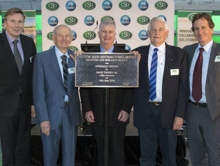 Cotton Seed Distributors officially open new cotton seed processing facilities at Wee Waa