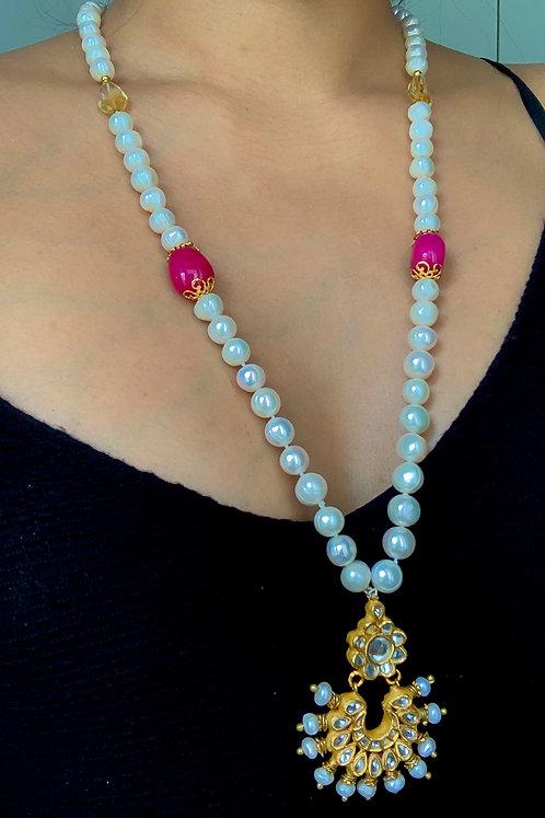 Daylight Kundan Necklace