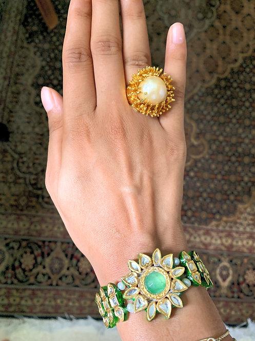 Kundan Florite Bracelet