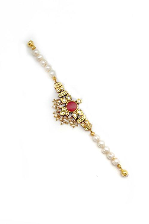 Surya Kundan Bracelet