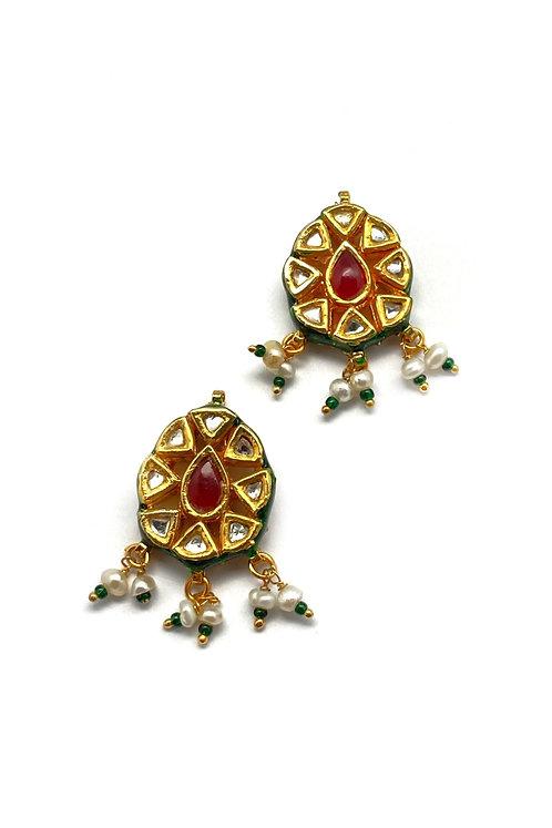 Kundan Rays Earrings