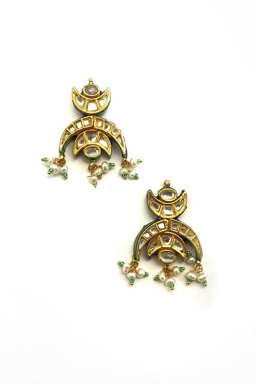 Kali Kundan Earrings