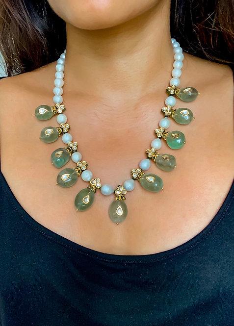 Florite Drop Necklace