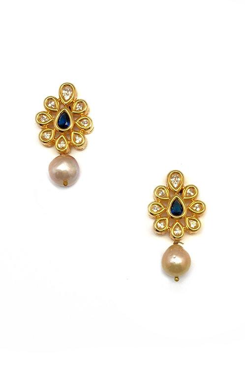 Ambi and Baroque Earrings