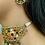Thumbnail: Webbed Kundan Earrings