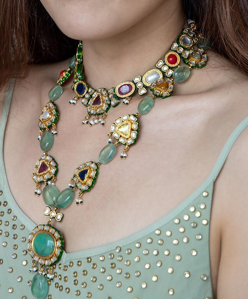 Empress Kundan Necklace