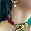 Thumbnail: Kundan Red Earrings