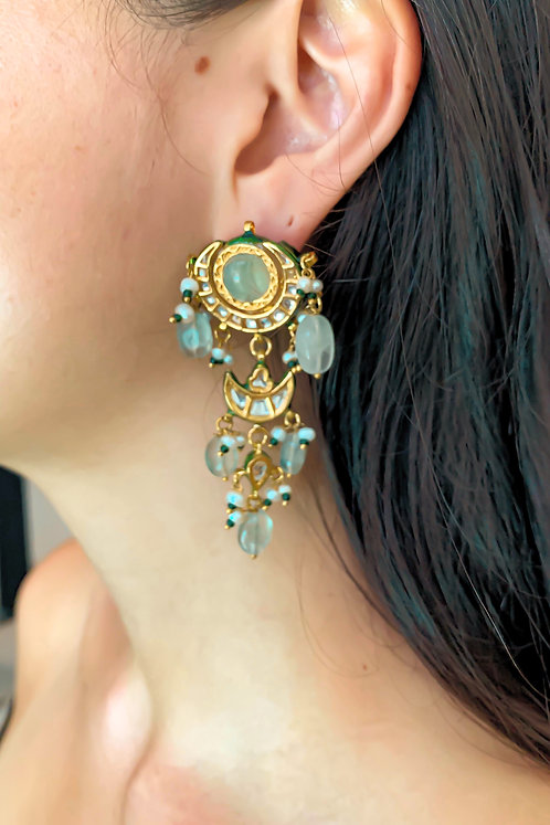 Florite Chaand Earrings