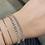Thumbnail: Deluxe Rose Gold Tennis Bracelet