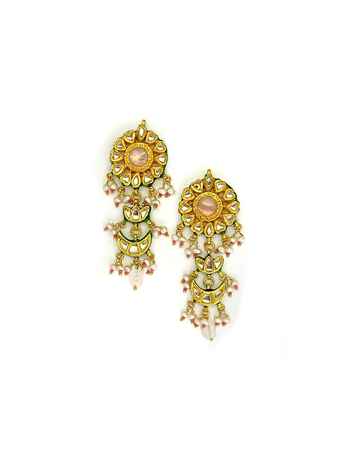 Flush Kundan Earrings