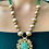 Thumbnail: Green and Gold Kundan Necklace