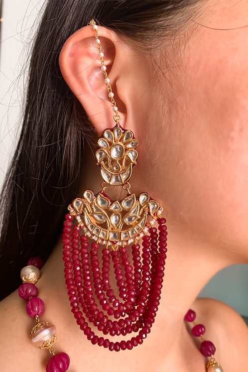 Jhoomar Kundan Earrings