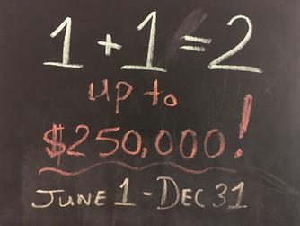 $250,000 Matching Challenge!