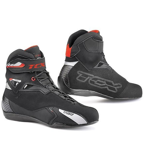 TCX Rush WP boots Black Red
