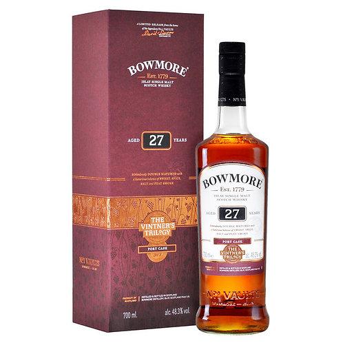 Bowmore  27 ans Vintner's, 70cl, 48.3%