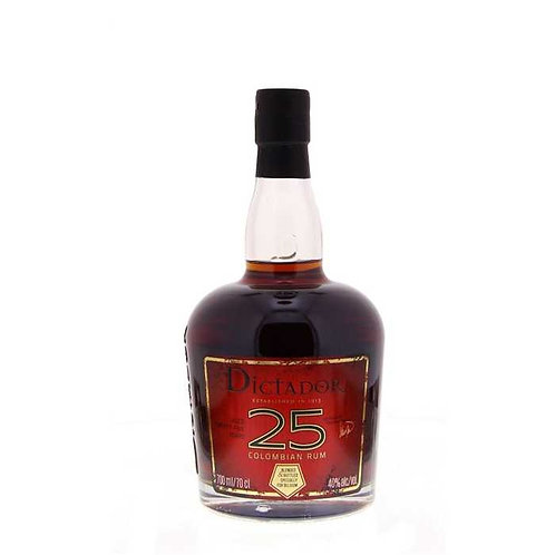 "Dictador 25 ans XO, ""The Nectar"", 40%, 70cl"