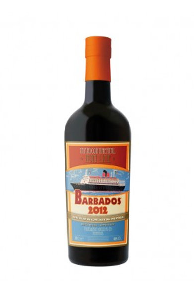 Barbados 2012, 70cl, 46% Transcontinental