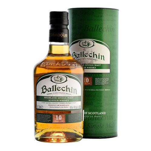 Ballechin 10 ans, 70cl, 46%