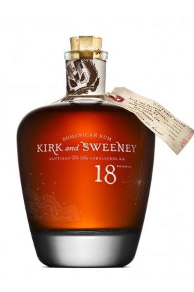 Kirk & Sweeney, 18 ans, 70cl, 40%