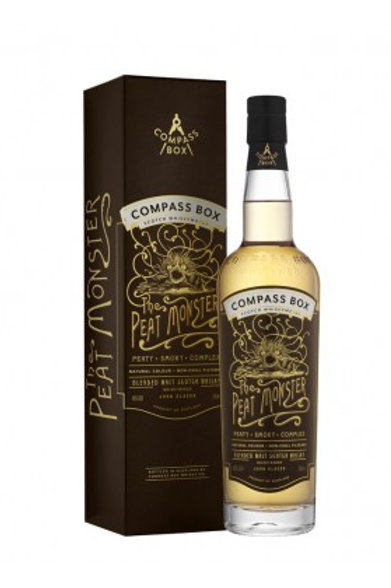 Peat Monster Compass Box, 46%,  70cl