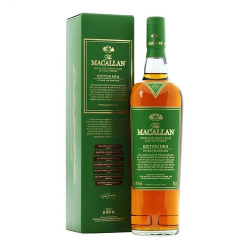 Macallan Edition No. 4, 48,4%, 70cl