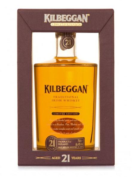 Kilbeggan 21 ans Grain & Malt, 70cl, 40%
