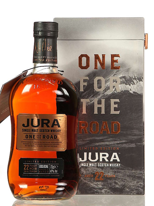 Jura 22 ans One for the Road, 70cl, 47%