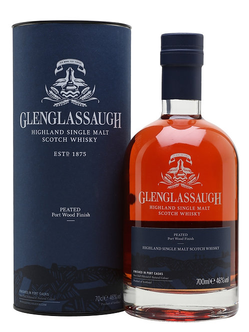Glenglassaugh Port Wood Finish Peated