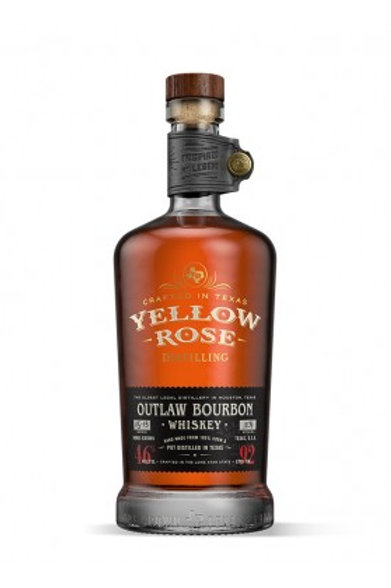 Yellow Rose Outlaw Whiskey, 70cl, 46%