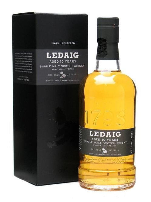 Ledaig 10 and 46.3% 70cl