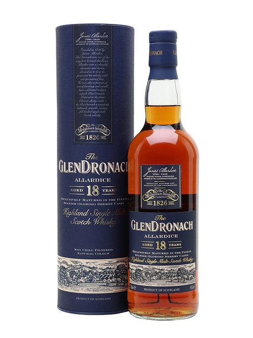Glendronach 18 ans, 46%, 70cl