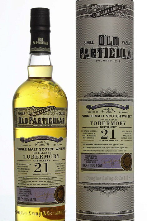 DL OP Tobermory 1996, 21 ans, 70cl, 51,1%