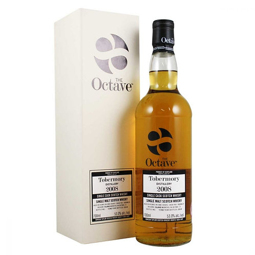 Octave Tobermory 2008 10 ans, 70cl, - 53.9%,