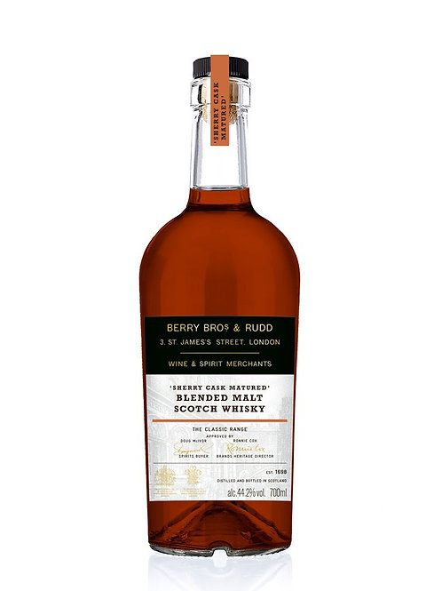 Berry Bros & Rudd sherry 70cl, 44,2%