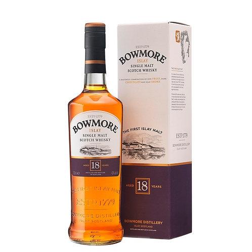 Bowmore 18 ans, 70cl, 43%