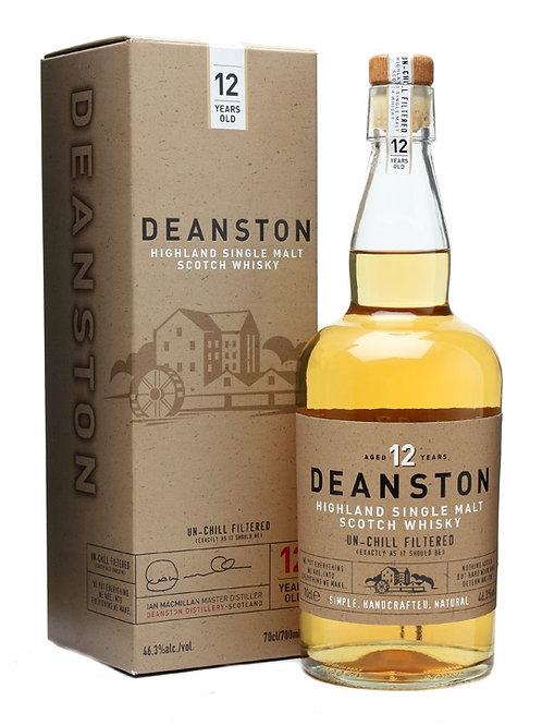 Deanston 12 ans, 46.3%, 70cl
