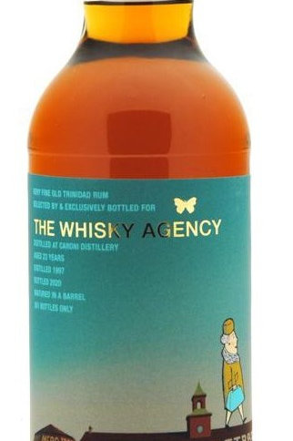 Caroni 1997, 23 ans The Whisky Agency, 70cl, 49,2%