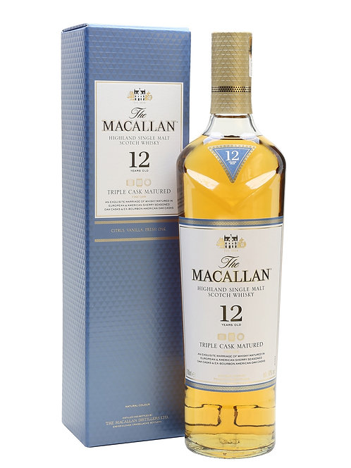 Macallan Tipple cask 12 ans, 70cl, 40%
