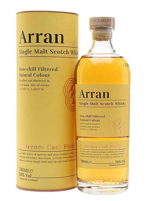 Arran Sauternes Finish, 70cl, 50%