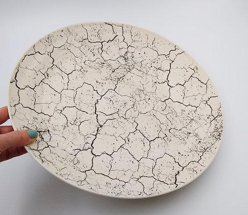Cracked Earth platter