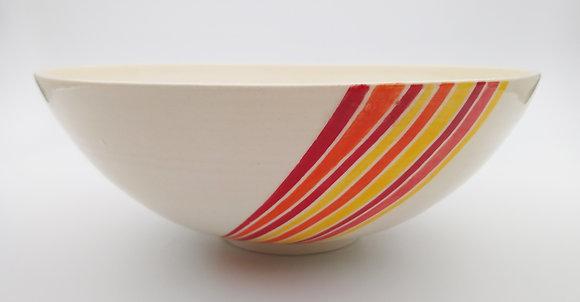 Geometric Round Bowl